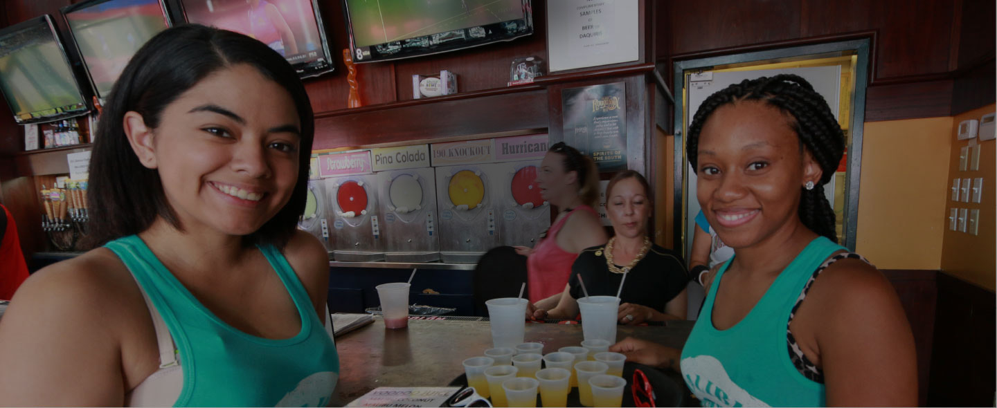 Drink specials and fun at Time Out Sports Bar & Grill in New Orleans, LA